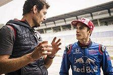 Marc Marquez: Die Bilder vom Formel-1-Test in Spielberg