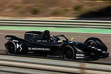 Formel E: Vergne und Lotterer testen erstmals GEN2-Auto von DS