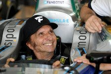 Formel E - Video: Formel-1-Legende Emerson Fittipaldi fährt Formel-E-Auto