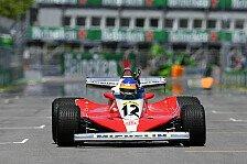 Formel 1 Kanada: Jacques Villeneuve im Ferrari von Vater Gilles