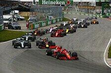 Formel-1-Startzeiten 2019 offiziell: Rennen weiter um 15:10 Uhr