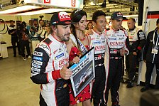 24h von Le Mans 2018: Fernando Alonsos Toyota auf Pole Position