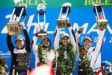 24 h von Le Mans - Video: Le Mans 2018: So feiert Fernando Alonso beim 24h-Rennen