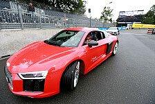 DTM Norisring Mitfahrt: Hot Laps im heißen Audi R8