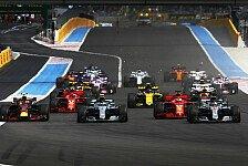 Formel 1 Frankreich 2019 live: TV-Programm RTL & Sky, Zeitplan