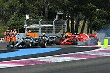 Formel 1, Lewis Hamilton über Vettel-Crash: Ist doch verrückt