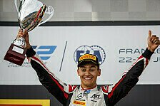 Formel 2 Abu Dhabi: Russell ist Meister nach siebtem Saisonsieg
