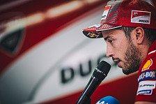 MotoGP - Kein Speed, kein Feuer: Luft raus bei Dovi und Ducati