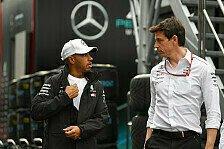 Formel 1 - Video: Formel 1: Mercedes-Dreamteam Hamilton & Wolff im Gespräch