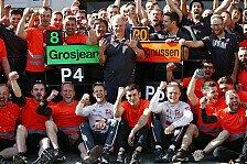 Formel 1 2019: Haas F1 Team weiter mit Grosjean und Magnussen