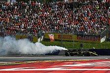 Formel 1, Renaults Österreich-Horror: Unfahrbar und abgeraucht