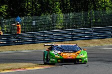 Positiver Test für GRT Grasser in Spa-Francorchamps
