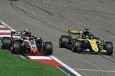 Formel 1: Bruchlandung! Renault fürchtet Haas in Silverstone