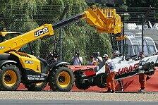 Haas, Steiner nach Crash-Fest in Silverstone: Das muss aufhören