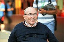 Formel 1: Sir Frank Williams aus Krankenhaus entlassen
