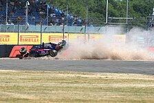 Formel 1, Crash erwischt Toro Rosso eiskalt: Noch nie erlebt