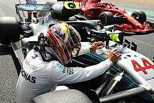 Formel 1 Silverstone, Statistiken: Hamiltons 50. Mercedes-Pole