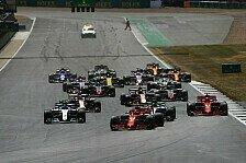 Formel-1-Fahrer feiern Sprintrennen, Vettel äußert Bedenken