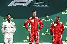 Formel 1, Start-Crash Hamilton vs. Räikkönen: War das Absicht?