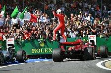Vettels Meisterwerk: Erst Nacken, dann Mercedes besiegt
