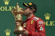 Sebastian Vettel: Seine 14 Formel-1-Siege mit Ferrari