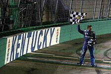 NASCAR: Fotos Rennen 19 - Kentucky Speedway Night Race