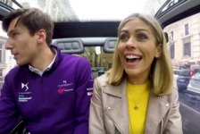Formel E - Video: Formel E: Virgin-Duo mit Nicki Shields unterwegs in Rom