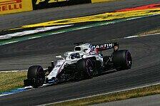 Formel 1, Hoffnungsschimmer für Williams: Update ein Erfolg