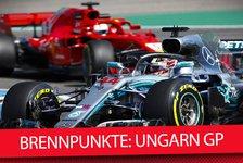 Formel 1, Ungarn 2018: Die heißesten Fragen vor Budapest