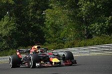 Formel 1 Ungarn: Ricciardo im 1. Training vor Vettel