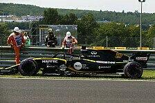 Formel 1 Ungarn: Renault, Haas leiden unter Trainings-Defekten