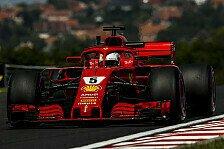 Formel 1 2018: Ungarn GP - Freitag