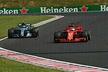 Formel 1, Trainingsanalyse: Ferrari und RB hängen Mercedes ab