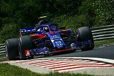 Formel 1 - Gasly feiert Ungarn-Punkte für Toro Rosso: Wie Traum