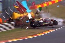 Spa 24h 2018: Schwerer Lamborghini-Unfall im Rahmenprogramm