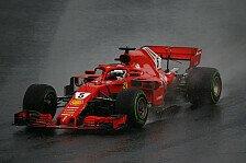 Vettel verflucht Regen: Im Trockenen alles unter Kontrolle