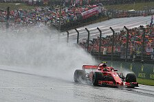 Formel 1 Ungarn, Räikkönen-Ärger: Haas-Gischt verhindert Pole