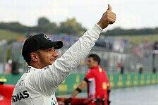 Formel 1 Ungarn, Hamilton: Pole war Schock für mich