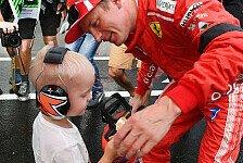 Formel 1, Sohn weist Räikkönen zurecht: Guck nach vorne!