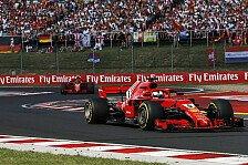 Formel 1 Ungarn, Vettel zum Bottas-Crash: War schon vorbei
