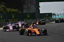 Formel 1: McLaren trickst Mittelfeld aus, Alonso: fast perfekt