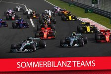 Formel 1 - Video: Von Williams bis Mercedes - Sommerbilanz Formel 1 2018