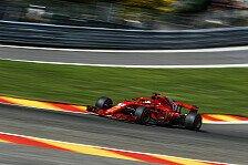 Formel 1 Spa: Vettel bricht Evo-Porsche-Rekord - schon in Q2