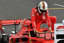 Formel 1 Spa 2018, Sebastian Vettel: Schimpftirade am Funk