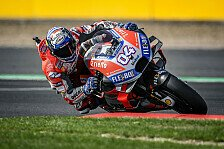 MotoGP Misano 2018: Ducati dominiert FP2, Rossi rettet sich