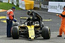 Hülkenberg für Formel-1-Crash bestraft: Saß in der Scheiße