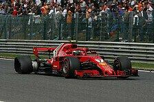 Formel 1 Spa, Räikkönen-Ausfall nach Startcrash: Er ahnte es
