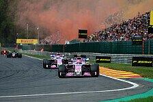 F1, P4 für Force India Ehrensache: Perez wettet gegen Renault