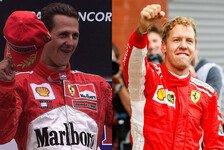Wie Michael Schumacher: Vettel bricht Prost-Rekord in Spa