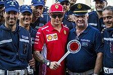 Formel 1 Monza, Räikkönen: Neuer Vertag bei Ferraris Heim-GP?